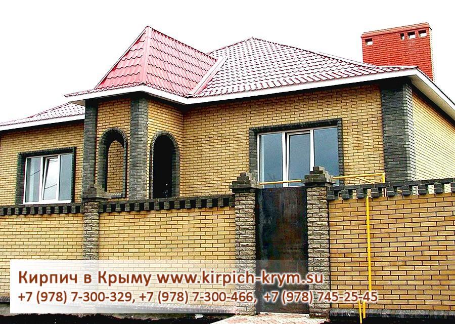Дом из кирпича с мансардой